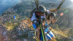 Volo su Taormina